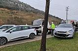 Bursa'da zincirleme kaza: 1 yaralı