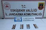 Bursa'dan Eskişehir'e uyuşturucu madde getirmek isterken yakalandı