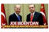Biden'dan Cumhurbaşkanı Erdoğan'a İklim Zirvesi daveti