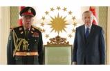 Cumhurbaşkanı Erdoğan, Mareşal Raşid Dostum'u kabul etti