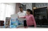 Yıldırım'dan kanser hastası çocuklara kutu kutu mutluluk