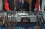 8 ilde düzenlenen silah ticareti operasyonuna 9 tutuklama
