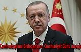 Cumhurbaşkanı Erdoğan'dan İlham Aliyev'e Cumhuriyet Günü mesajı