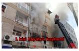 4 katlı binada yangın: 1 ölü