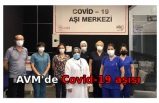 AVM'de Covid-19 aşısı