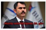 Bakan Kurum: Marmara Denizi'nde 7 bin 932 metreküp müsilajı bertarafa gönderdik