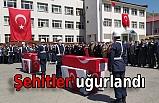 Bitlis'te şehitler için tören