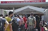 Cilvegözü'nden 44 bin 220 Suriyeli bayramlaşmak için ülkelerine gitti