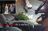 Düğün dönüşü kaza; Gelin ve damat ile 2 sürücü yaralandı