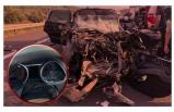 Kamyona çarpan cipin hız kadranı 280'de takılı kaldı; 1 ölü, 1 yaralı