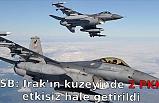 MSB: Irak'ın kuzeyinde 2 PKK'lı etkisiz hale getirildi