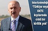 Bakan Karaismailoğlu: Türkiye veya KKTC kıyılarında ciddi bir kirlilik yok