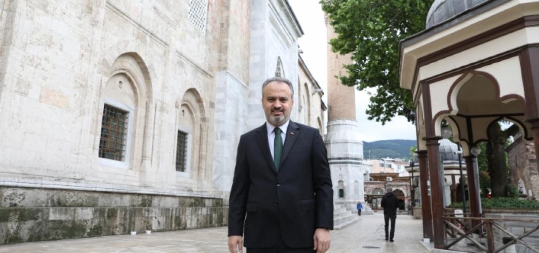 Bursa'da camiler cumaya hazır