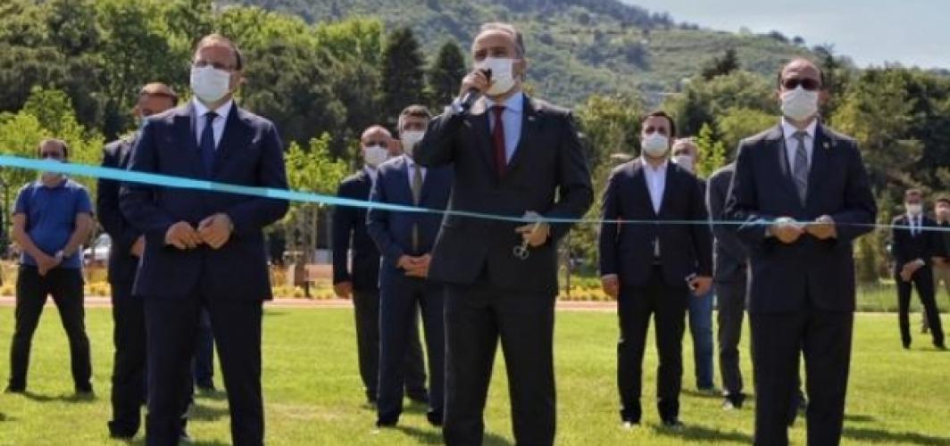 Bursa'da millet bahçesi hizmete açıldı