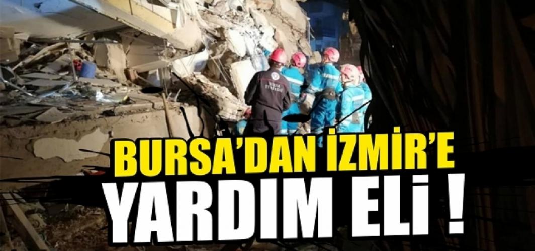 Bursa'dan İzmir'e yardım eli !