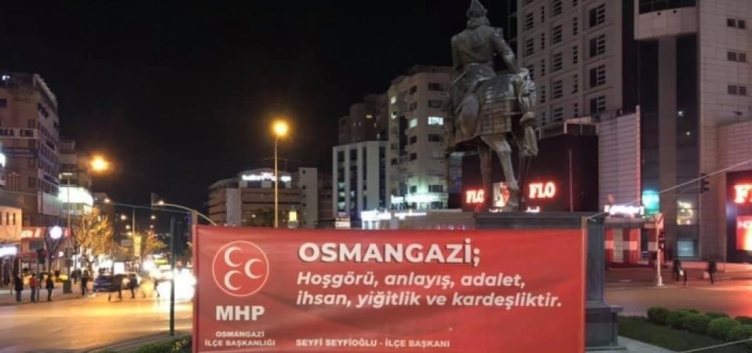 """MHP Osmangazi İlçe Başkanlığı'ndan """"Bursalı olmak"""" fankındalık projesi"""