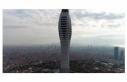 Çamlıca Kulesi'nin anten test yayınları yıl...