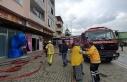 Bursa'da kömür deposunda yangın