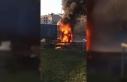 Esenyurt'ta TIR alev alev yandı(2)