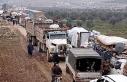 Türkiye sınırına büyük göç
