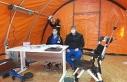 Bursa'da hastane bahçelerine triaj çadırları...
