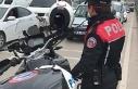 Polis ekiplerinden megafonla 'evde kal'...