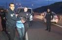Başakşehir'de polisle şüpheliler arasında...