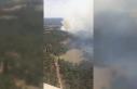 Çanakkale'de orman yangınında 3 hektar ormanlık...