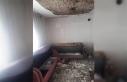 Çocuklarıyla yaşadığı evi yandı