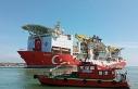 Fatih Sondaj Gemisi römorkörler ile 4 saatlik çalışmanın...