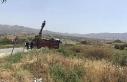 İneğe çarpan kamyon şarampole yuvarlandı: 2 tarım...