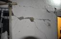 Malatya'daki depremde bazı binalarda hasar oluştu