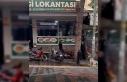 Manisa'da sokak köpeğini sopayla döven adama...
