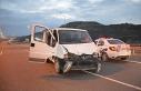 Minibüs ile otoyola ters yönden giren 6 hırsızlık...