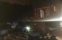 TIR devrildi, İstanbul-Bursa karayolu trafiğe kapandı:...