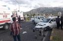 Van'da trafik kazası, 4 yaralı