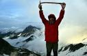 Altıparmak Dağları'na buzul tırmanışı...