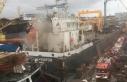 (Geniş Haber)Tuzla'da gemide yangın