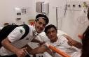 İkili mücadelede ayağı kırılan Altınordu futbolcusu...