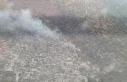İzmir'de makilik alanda çıkan yangın kontrol...
