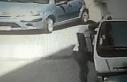 Maltepe'de bir kişinin kamyonetten telefon çalma...
