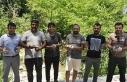 Manavgat'ta vatandaş istedi, doğaya 50 keklik...