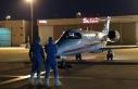 Riyad'taki Covid-19'lu karı koca ambulans uçakla...