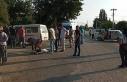 Antalya'da midibüs ile otomobil çarpıştı:...