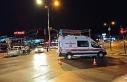 Covid-19 şüphelisi bebek ve annesini taşıyan ambulans...