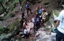 Deliklitaş Mağarası'nda 15 metreden düşen...