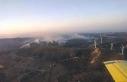 Güney Kıbrıs'ta çıkan yangın kontrol altına...