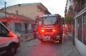İzmir'de otluk alanda başlayan yangın eve sıçradı