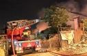 Kartal'da geri dönüşüm deposunda yangın