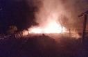 Kastamonu'da çıkan yangında 5 samanlık ve 500...
